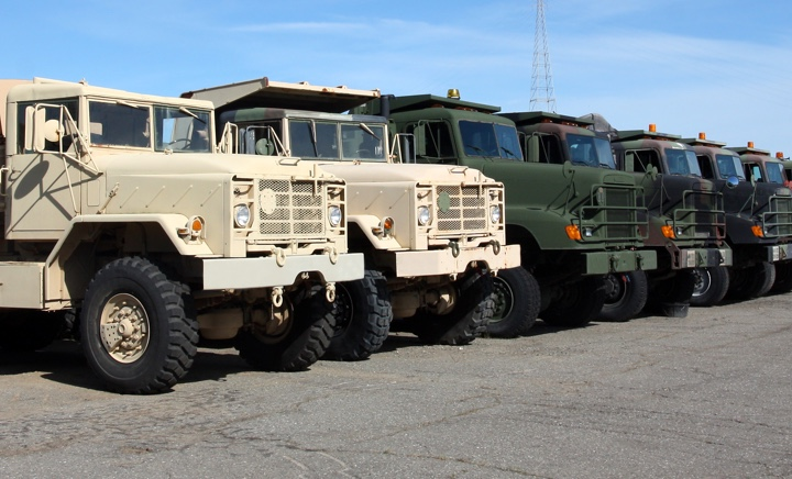 Military Hummers