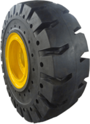 Solid Aperture Tires