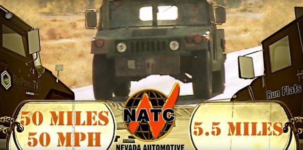 Military Grade Tire Flatproofing Image